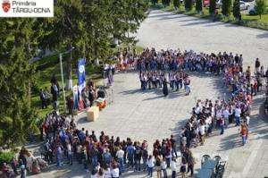 9 mai - sărbătorit și în stațiunea turistică Târgu-Ocna