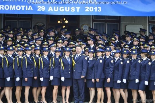 Festivitatea de absolvire a promoţiei 2013 SNPAP Târgu-Ocna
