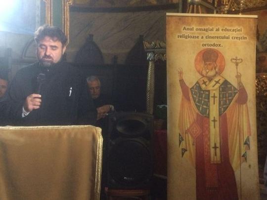 Sfântul Antim Ivireanul evocat la Târgu-Ocna