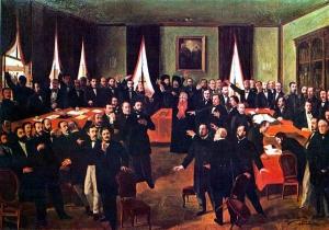 Costache Negri - prezent în Comitetul Unirii de la Iaşi - 24 ianuarie 1859