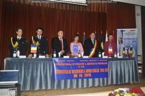 Festivitatea de deschidere a noului an şcolar la SNPAP Târgu-Ocna