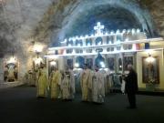 Sfânta Liturghie în Salina Târgu Ocna