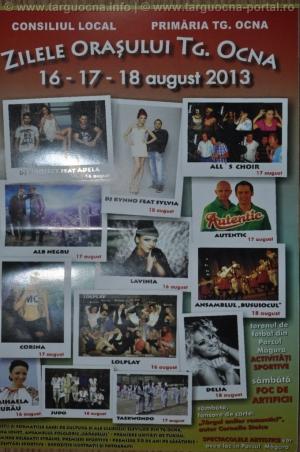Programul Zilelor staţiunii turistice Târgu-Ocna în 2013
