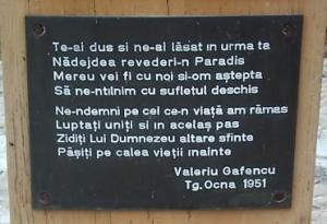 Muzeu al rezistenţei anticomuniste, la Târgu-Ocna