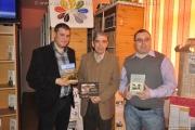 """Triplă lansare de carte la Colegiul naţional """"Costache Negri"""" - Târgu Ocna"""