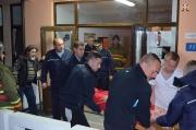 Exerciţiu practic de evacuare în caz de incendiu la SNPAP Târgu-Ocna