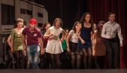 Spectacolul de dans irlandez Saint Patrick la Târgu--Ocna