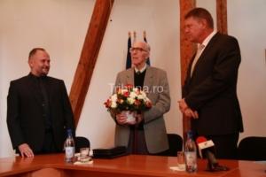 Nicolae Barcan - pictor târgocnean, cetăţean de onoare al Sibiului.