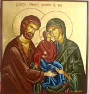 Sfinţirea aşezământului social-filantropic închinat Sfinţilor Părinţi Ioachim si Ana din incinta Bisericii Naşterea Maicii Domnului  în data de 9 iulie 2016.
