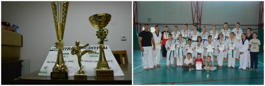Târgocneni câştigători la taekwondo WTF
