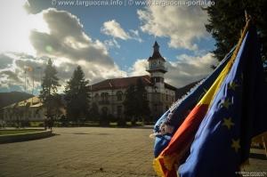 Ziua naţională a României aniversată în staţiunea turistică Târgu-Ocna