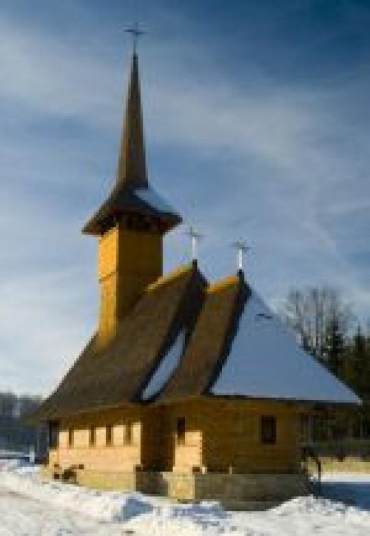 Sfântul Cuvios Eftimie cel Mare, din Cireşoaia Târgu-Ocna