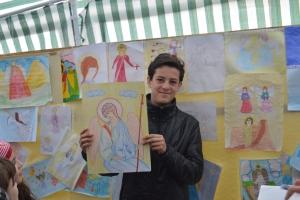 """Prăznuirea Sfinţiilor Arhangheli Mihail şi Gavril la Biserica """"Sfinţii Voievozi"""""""