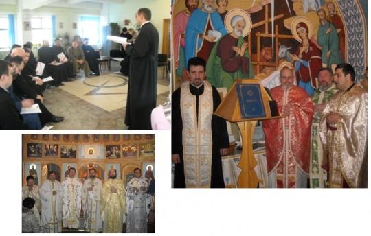 Şedinţa anuală a Arhiepiscopiei Romanului şi Bacăului privind asistenţa religioasă în penitenciare.