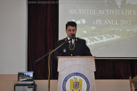 Bilanţul SNPAP Târgu-Ocna pe anul 2012