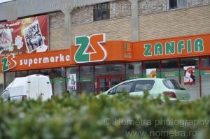 Supermarketul Zanfir deschis pe 16 aprilie 2011 în Staţiunea Târgu-Ocna