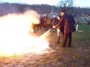 Exerciţiu practic de evacuare în caz de incendiu la SNPAP Târgu-Ocna 2016