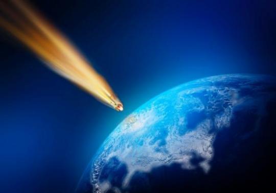 Meteor sau rachetă...? Acesta a trecut şi peste staţiunea turistică Târgu-Ocna