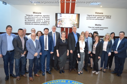 Vizita reprezentanţilor Norvegiei la SNPAP Târgu-Ocna