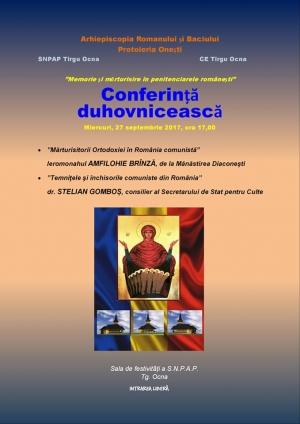 Memorie şi mărturisire în penitenciarele româneşti - SNPAP Târgu-Ocna